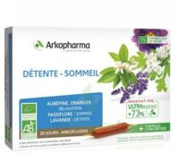 Arkofluide Bio Ultraextract Solution Buvable Détente Sommeil 20 Ampoules/10ml à Bourges