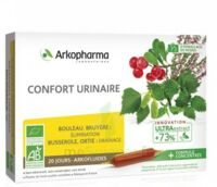Arkofluide Bio Ultraextract Solution Buvable Confort Urinaire 20 Ampoules/10ml à Bourges