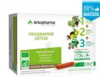 Arkofluide Bio Ultraextract Coffret Programme Détox 3x10 Ampoules/10ml à Bourges
