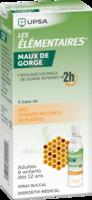 Les Elementaires Solution Buccale Maux De Gorge Adulte 30ml à Bourges