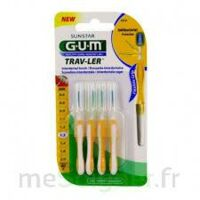 Gum Trav - Ler, 1,3 Mm, Manche Jaune , Blister 4 à Bourges