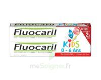 Fluocaril Kids Gel Dentifrice Fraise 0/6ans 2*50ml à Bourges