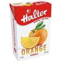 Halter Bonbon Sans Sucre Orange 40g à Bourges