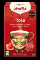 Yogi Tea Thé Tao Tea Rose Bio 17 Sachets à Bourges