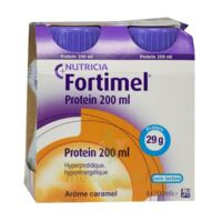Fortimel Protein Nutriment Caramel 4 Bouteilles/200ml à Bourges