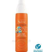Avène Eau Thermale Solaire Spray Enfant 50+ 200ml à Bourges