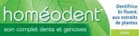 Boiron Homéodent Soin Complet Dents Et Gencives Pâte Dentifrice Anis 2t/75ml à Bourges