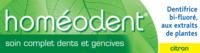 Boiron Homéodent Soin Complet Dents Et Gencives Pâte Dentifrice Citron 2t/75ml à Bourges