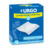 Urgo Compresse Stérile 7,5x7,5cm 10 Sachets/2 à Bourges