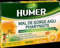 Humer Pharyngite Pastille Mal De Gorge Miel Citron B/20 à Bourges